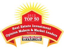 2012 Real Estate Investor Award
